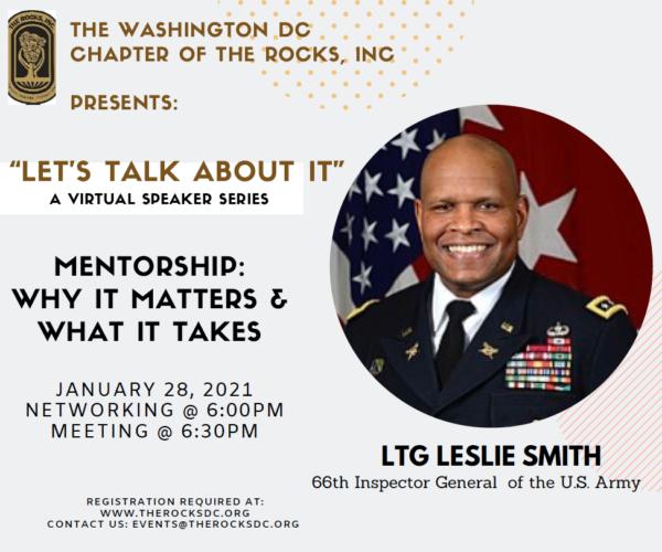Lets Talk About It : Mentorship Flyer