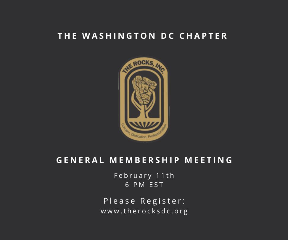 February General Member Meeting