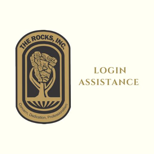 Login Assistance Flyer