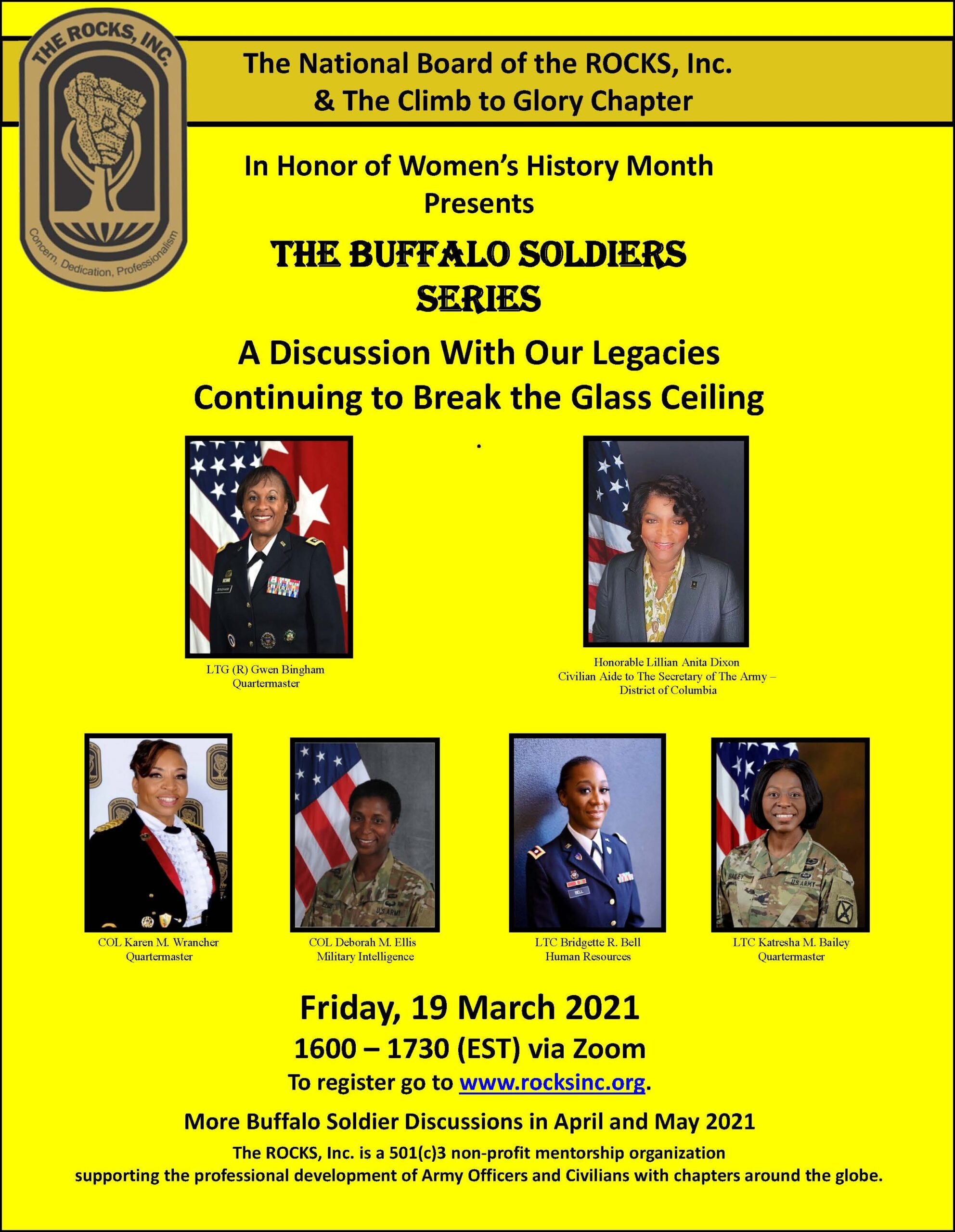 Buffalo Soldiers Series: IHO Women's History Month