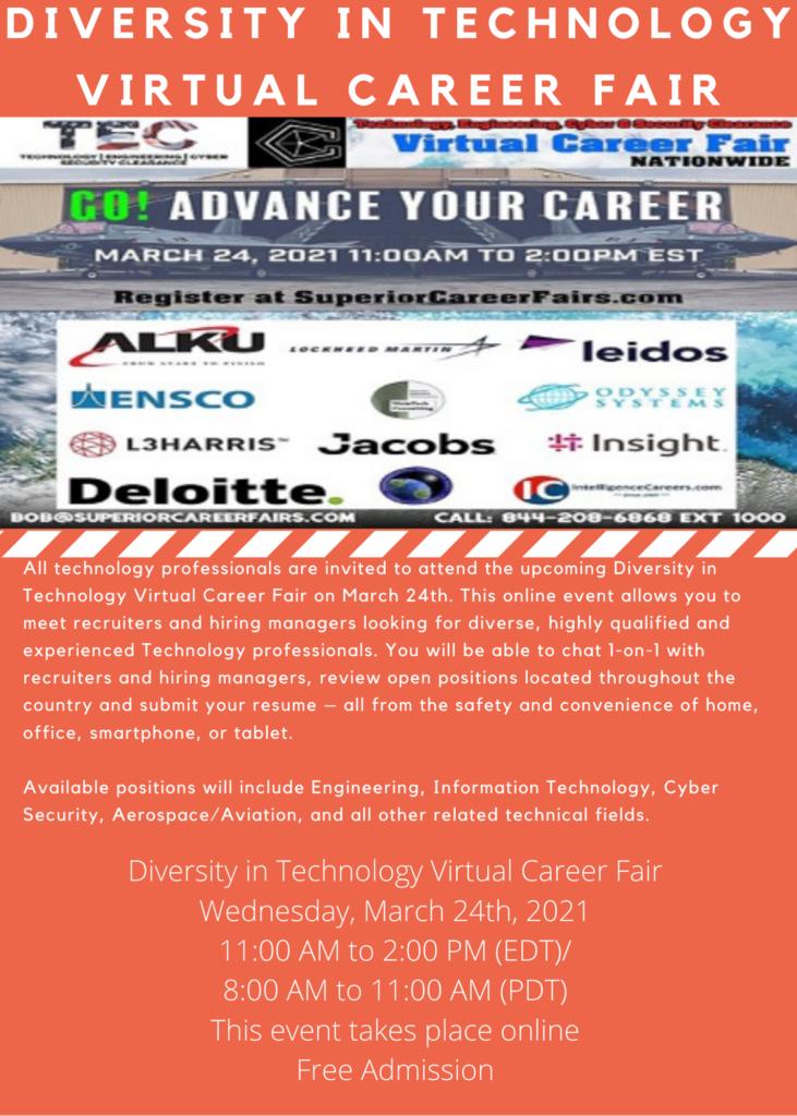 Technology Career Fair Flyer