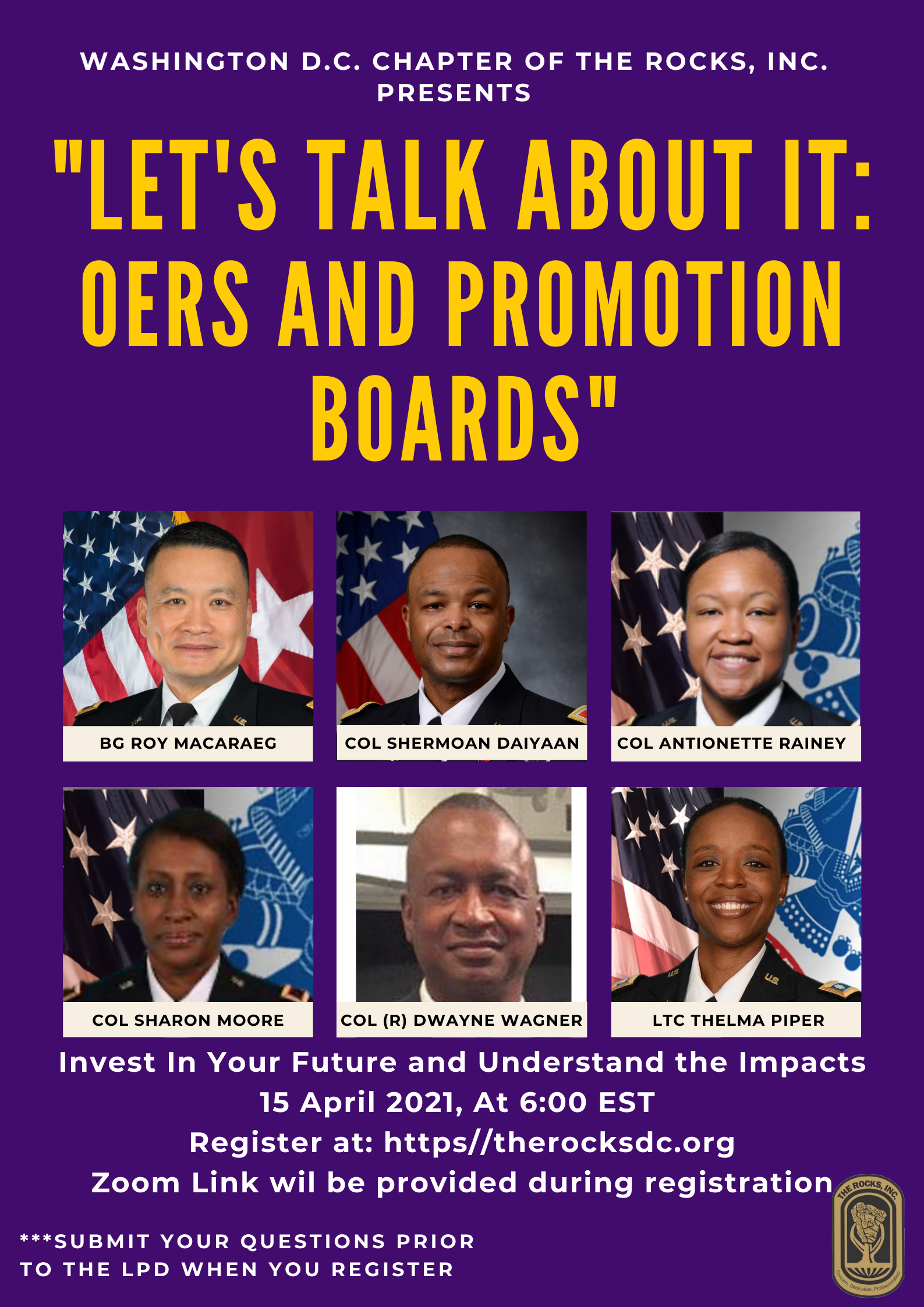 Let's Talk About It: OERS and Promotion Boards