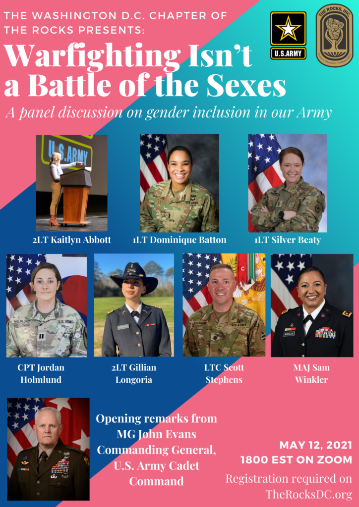 Let's Talk About It: War-Fighting Isn't a Battle of the Sexes Flyer