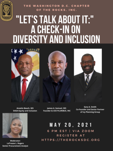 A Check-In on Diversity and Inclusion Flyer