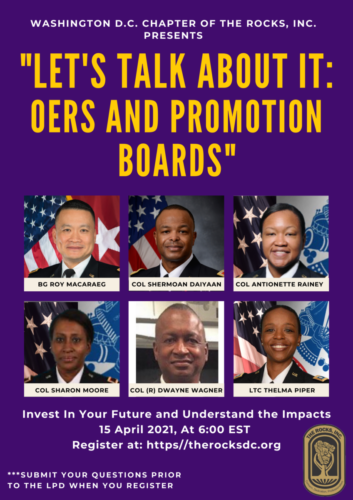 OERs and Promotion Boards Flyer