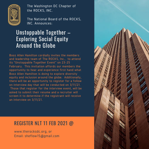 Unstoppable Together: Exploring Social Equity-Around the Globe Flyer